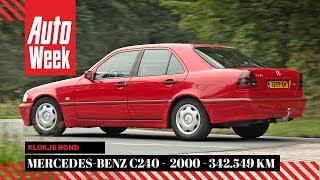 Mercedes-Benz C240 V6 - 2000 - 342.549km - AutoWeek Klokje Rond