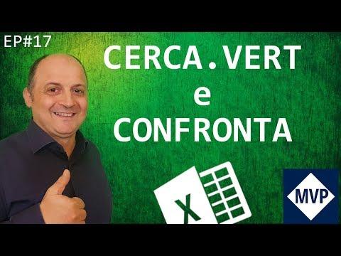 EP17 CERCA VERTICALE DI EXCEL e CONFRONTA NIDIFICATA (formule e funzioni ricerca di excel)