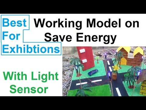 [WITH Light Sensor] SST Working model on save energy- AMAZING WORKING!!!