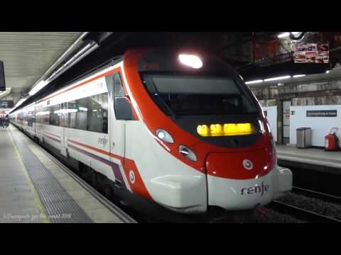 Trenes en Barcelona Rodalies Catalunya