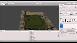 Как создать игру с помощью Unity (часть 1) Terrain(Unity3d на видео : http://download.unity3d.com/download_unity/UnitySetup-3.5.7.exe Новый Unity3d ..., 2012-02-27T23:35:01.000Z)
