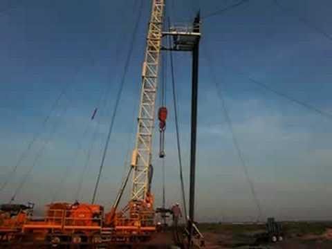 Pulling Unit in West Texas