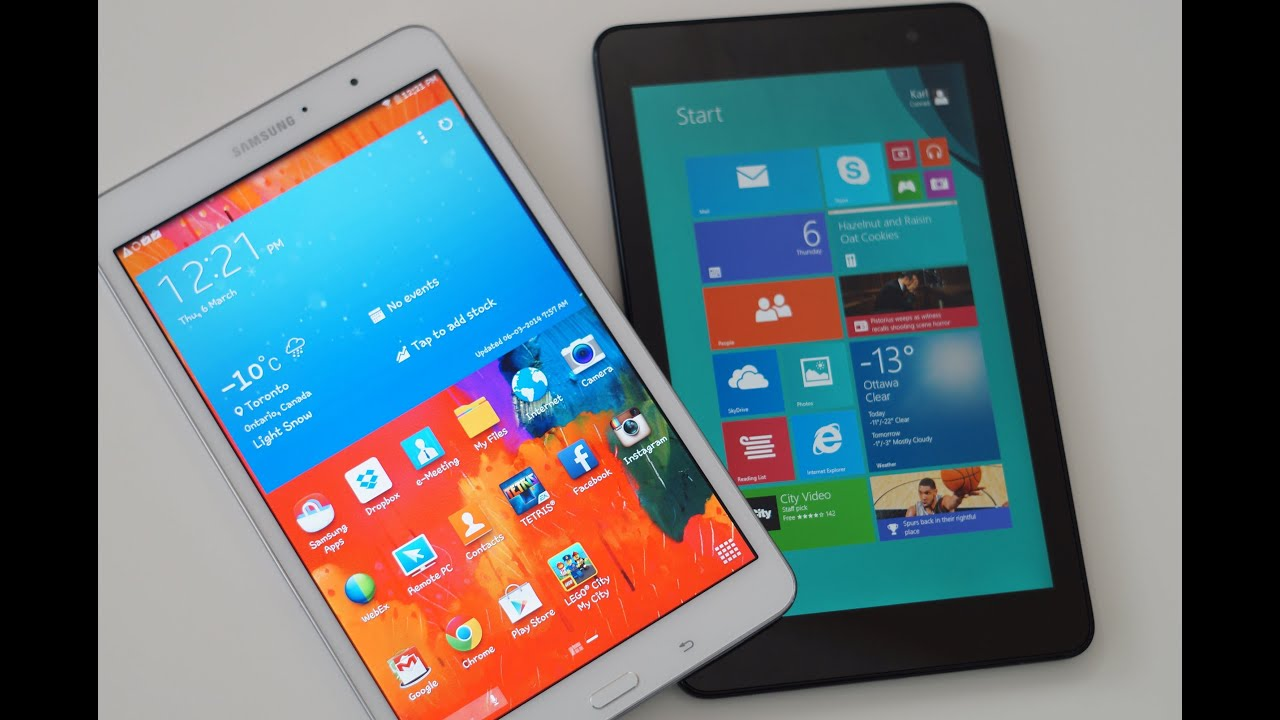 Vergleich: Lenovo Yoga Tablet 2 10 - Windows vs. Android ...