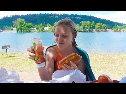 Это лето! ЧТО МЫ БЕРЕМ НА ПЛЯЖ Отдых на озере Кёр-д'Ален в Америке