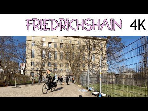 LOST IN 🇩🇪 Walking in Berlin Friedrichshain Germany | Ostbahnhof - Berghain - Warschauer straße【4K】
