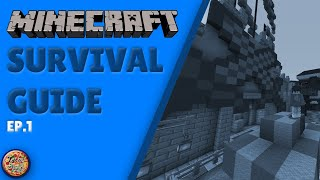 Minecraft Survival Guide #1 (Basics) | Techy Pizza