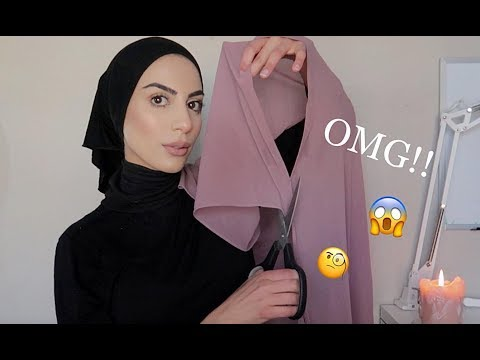 Hijab Tutorial: How To Style A Ready Made Hijab ( Super Easy!! ) - YouTube