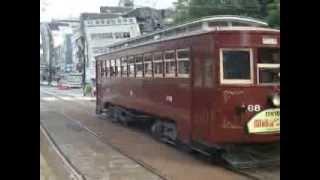 長崎電気軌道 168号 公会堂前通過
