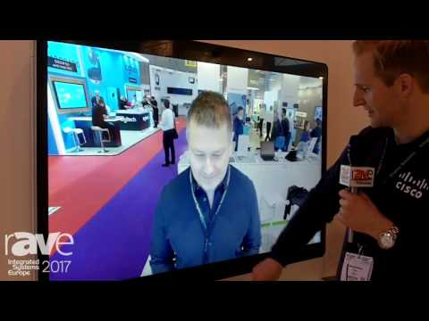 ISE 2017: Cisco Demos the Spark Board, an All-in-One Collaboration Solution