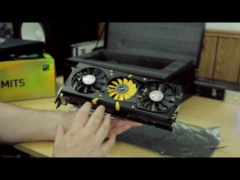 MSI N780 Lightning (GTX 780) Video Card Unboxing & First Look!