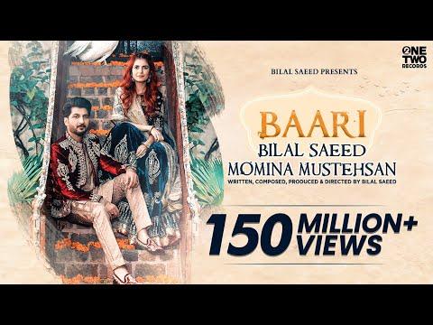 Baari By Bilal Saeed And Momina Mustehsan        Latest Song 2019