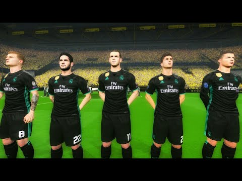 Borussia Dortmund vs Real Madrid UCL 26 September 2017 Gameplay