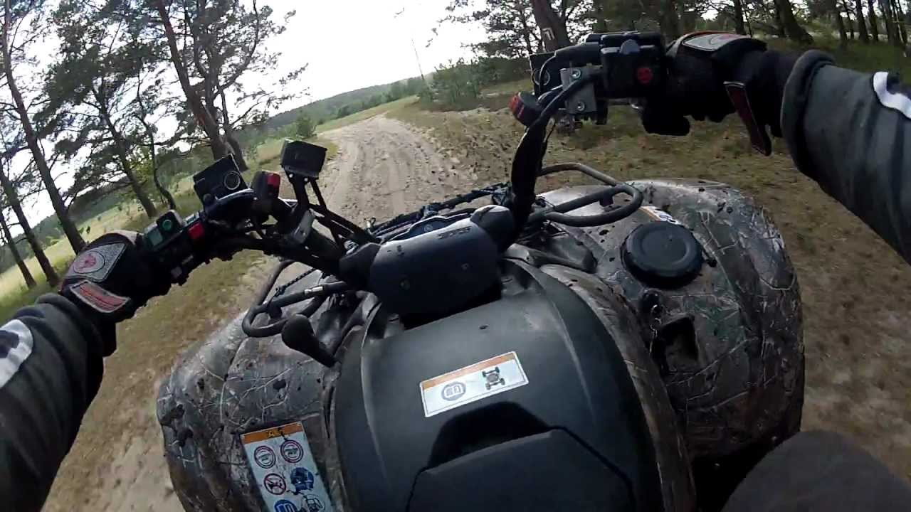 Yamaha grizzly 700 polaris sportsman 800 gopro test for Yamaha grizzly 800
