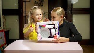 Распаковка сюрприза! Набор для детского  творчества. Раскраска на посуде.