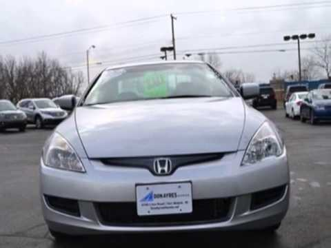 2003 honda accord cpe ex manual v6 w leather coupe fort wayne in youtube. Black Bedroom Furniture Sets. Home Design Ideas