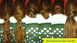 #Peinadosfáciles: seis peinados para pelo largo sólo con tres pasadores