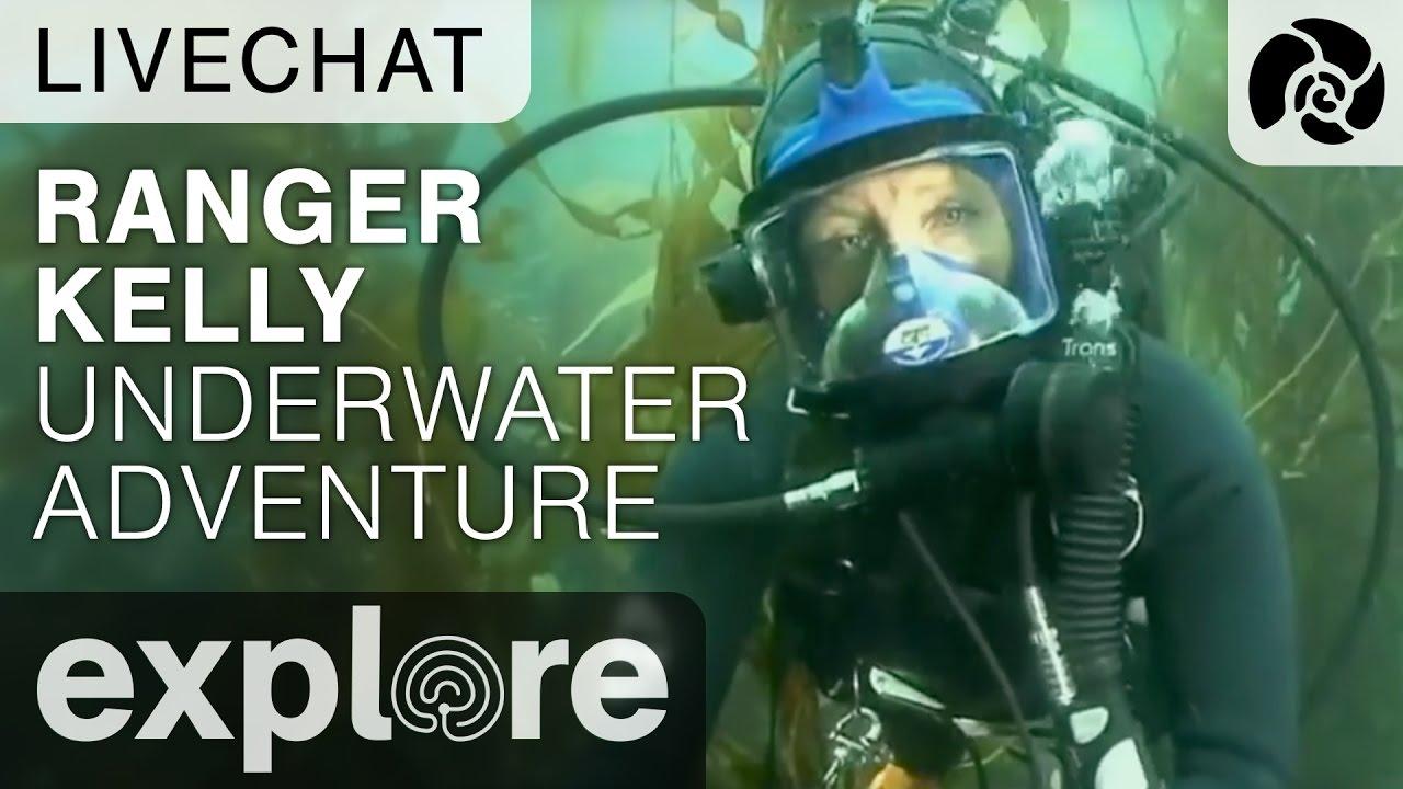 Ranger Kelly Underwater Adventure Anacapa Island - Underwater Live Chat