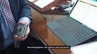 Au Tribunal de Tel Keppe (Irak) des données informatiques de Daech ont été saisies