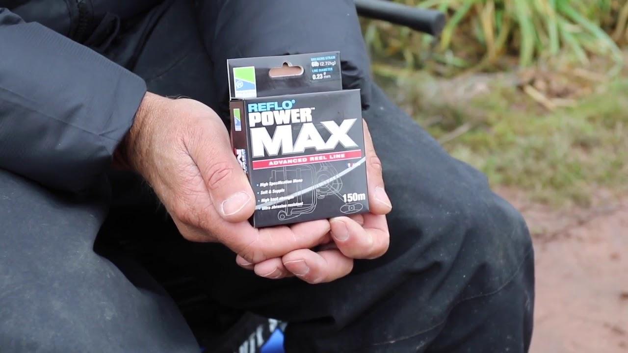 Coarse Fishing Preston Reflo Power Max