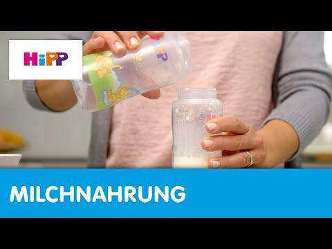 Milchnahrung: Die richtige Fläschchen-Zubereitung (HiPP Ratgeber)