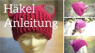 Mütze Häkeln Erdbeerbeanie Erdbeermütze Häkeln