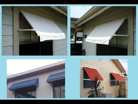 Toldo para janela ou porta fa a voc mesmo diy youtube - Modelos de toldos para patios ...