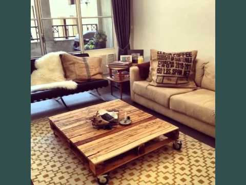 Pallet Furniture Picture Ideas | Recycled Wood Pallets Furniture   YouTube