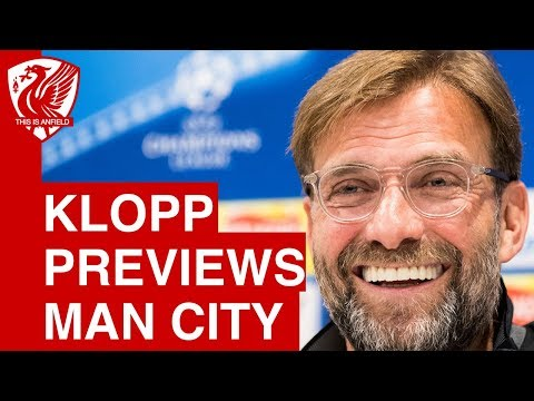 Jurgen Klopp Pre Match Press Conference | Liverpool vs. Man City