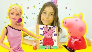 Поделки с Барби и Свинкой Пеппой. Приключения Барби - Мультики для девочек