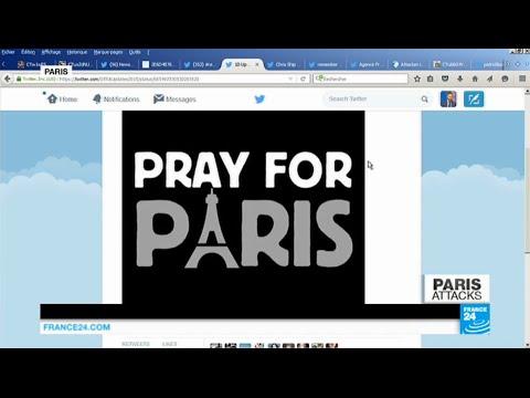 Paris Terror attacks: social media expressing extraordinary solidarity after attacks
