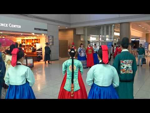 The Walk of the Joseon Royal Family show @ Incheon International Airport