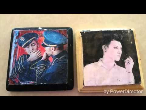 Kpop DIY: Photo Transfer to Wood