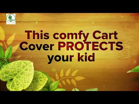 Crocnfrog 2-in-1 Shopping Cart and High Chair Cover!