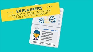 How Post-It Notes Will Save Your Passport | Explainers | Travel + Leisure