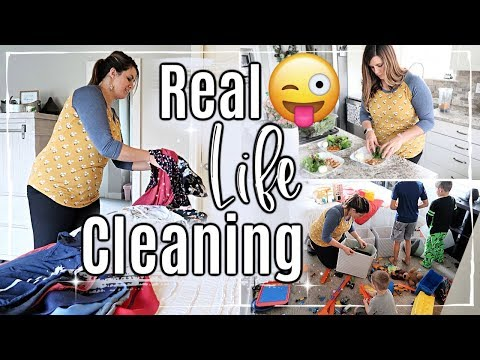 FALL CLEANING MOTIVATION :: DAILY SAHM CLEANING ROUTINE :: SPEED CLEAN WITH ME 2019