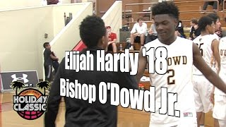Elijah Hardy '18, Bishop O'Dowd Junior Year, 2016 UA Holiday Classic