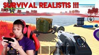 Minecraft mah Lewat ? | Game Survival Android Baru Grafisnya Realistis ! - The Galaxy Survivor
