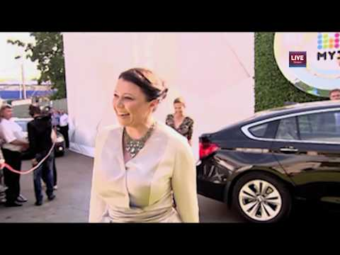 Premia MUZ-TV 2013 - Марина Жигалова-Озган (CEO Disney Russia)