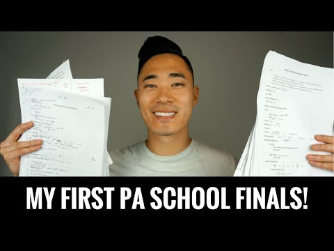 MY FIRST PA SCHOOL FINALS!