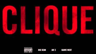 Kanye West ft. Big Sean & Jay Z - Clique (Lyrics in description)