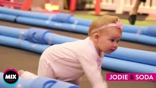 World's fastest baby wins $5,000 prize in Jodie and Soda's BONDS Baby Race