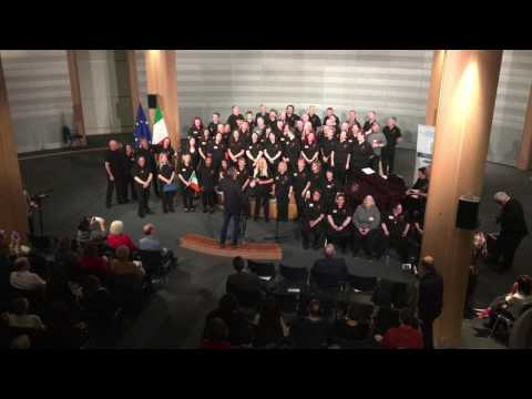 High Hopes Choir perform in the European Parliament