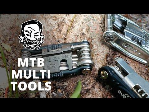 Multi tools for mountain biking