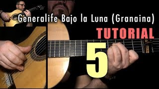 Arpeggio Exercise - 36 - Generalife Bajo la Luna (Granaina) FINALE by Paco de Lucia