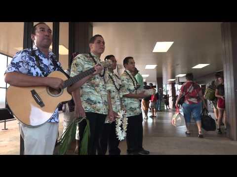 Kahau Pae `Ike Airport Greeting