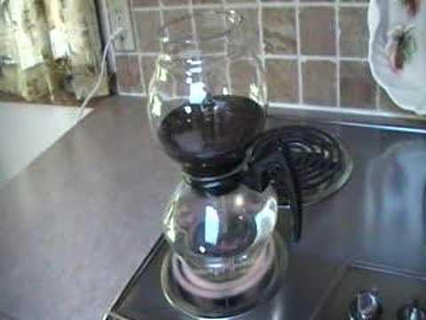 Vintage Cory Vacuum Coffee Pot Brewing Demo Youtube