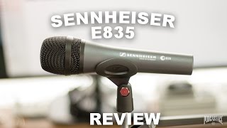Sennheiser E835 Dynamic XLR Microphone Review / Test