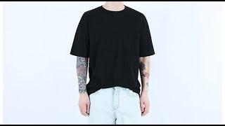 롤프 남성 남자 라운드 여름 반팔티 슬라브 티셔츠 기본…