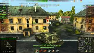 World of Tanks M53/55 и об.140