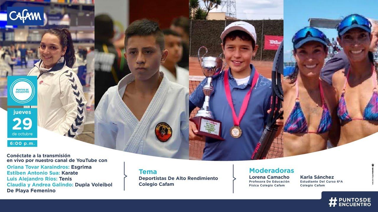 Puntos De Encuentro - Deportistas De Alto Rendimiento Del Colegio Cafam 🏅